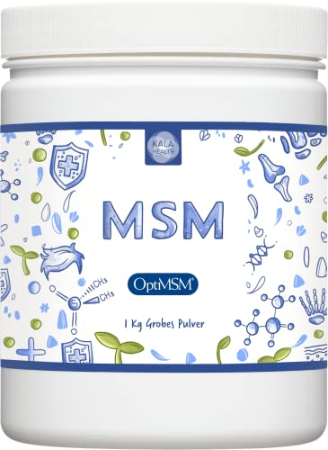 Kala Health - OptiMSM® Methylsulfonylmethan Pulver 1000g