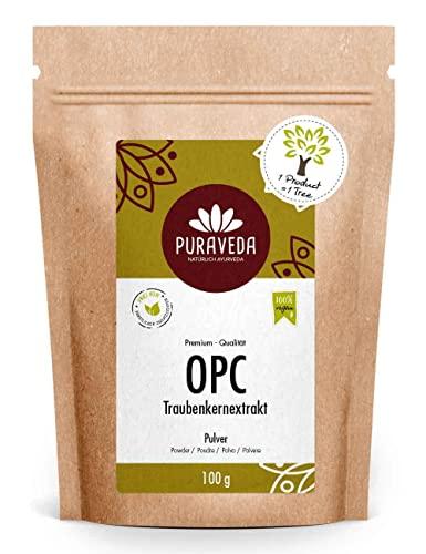 Biotiva OPC Traubenkernextrakt Pulver 100g 95% OPC