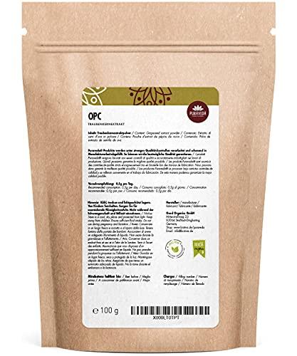 Biotiva OPC Traubenkernextrakt Pulver 100g 95% OPC - 2