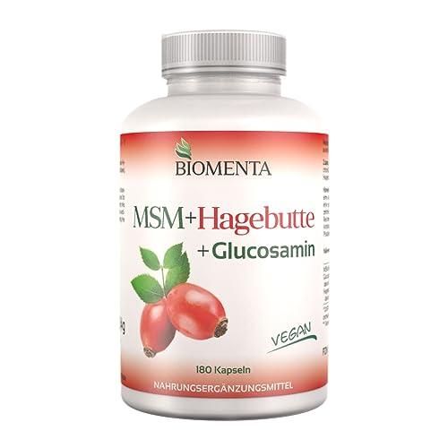 BIOMENTA® MSM-Schwefel + Hagebuttenpulver