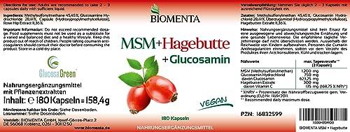 BIOMENTA® MSM-Schwefel + Hagebuttenpulver - 5