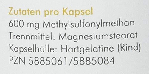 Manako MSM (Methylsulfonylmethan) Kapseln 300 Stück - 5