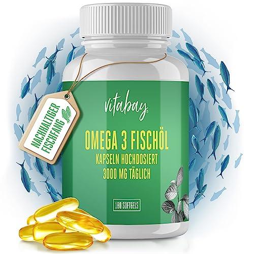 Vitabay Omega 3 180 Kapseln