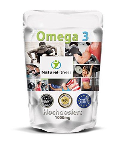 Nature Fitness Omega 3 500 Kapseln