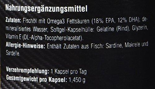 Amazing Nutrition Omega 3 Fischöl 200 Kapseln - 2