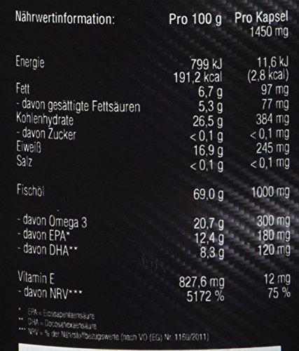 Amazing Nutrition Omega 3 Fischöl 200 Kapseln - 3