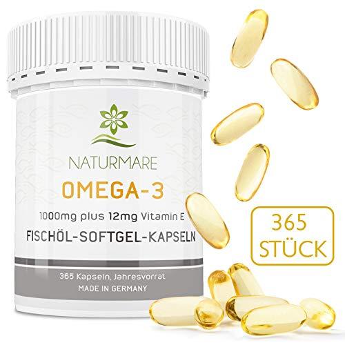 Naturemare Omega 3 365 Fischölkapseln