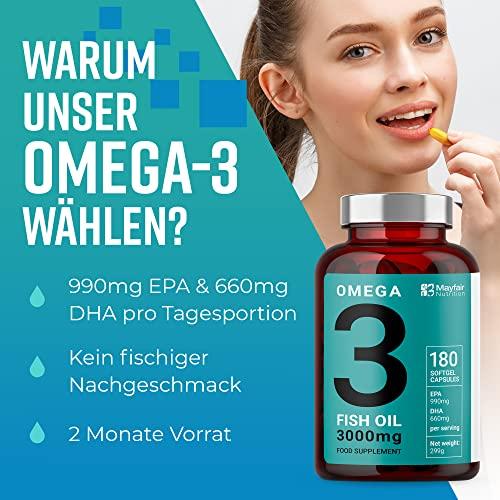 Iron Ore Health 180 Omega 3  Platinum Fischöl Kapseln - 4