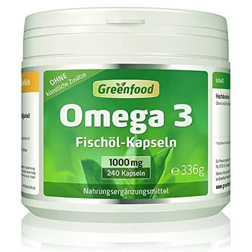 Greenfood 240 Omega 3 Kapseln