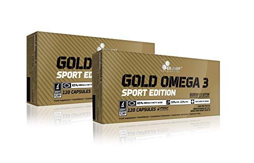 Olimp Gold Omega 3 Sport Edition 2×120 Kapseln
