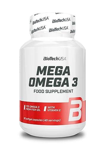 BioTech USA Omega 3 90 Kapseln