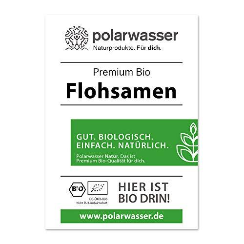 Biohelden - 1kg Bio Flohsamen ganz Premium Qualität - 99% reine Bio Floh Samen - Vegan Lactosefrei Glutenfrei - 4