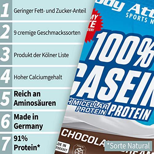 Body Attack 100% Casein Protein Chocolate Cream , 1er Pack (1 x 1.8 kg) - 3