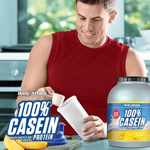 Body Attack 100% Casein Protein Chocolate Cream , 1er Pack (1 x 1.8 kg) - 5