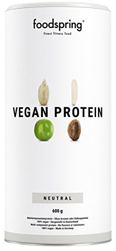 foodspring Vegan Protein Pulver 600g