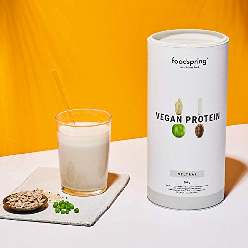 foodspring Vegan Protein Pulver 600g - 4