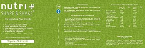 Nutri-Plus Proteinpulver Vegan 500g
