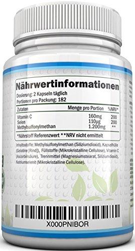 Nu U 365 Methylsulfonylmethan Kapseln - 3