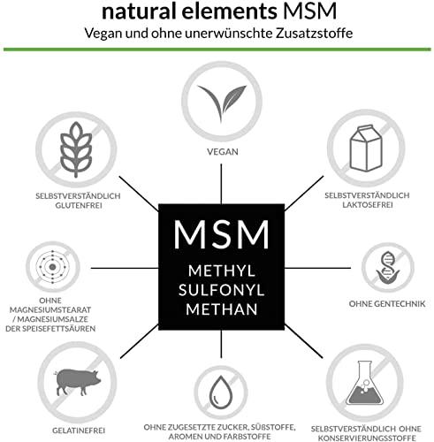 Natural Elements 365 MSM Kapseln - 3