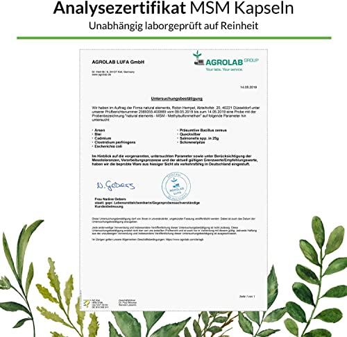 Natural Elements 365 MSM Kapseln - 4