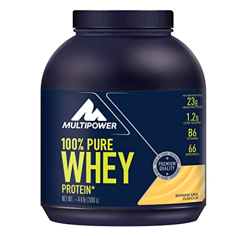 Multipower 100% Pure Whey Protein Banana Mango 2000g