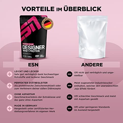 ESN Designer Whey Protein Vanille 1000g - 3