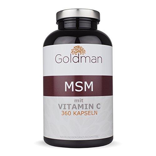 Goldman MSM Schwefel 6 Monatsvorrat