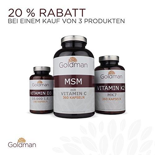 Goldman MSM Schwefel 6 Monatsvorrat - 6