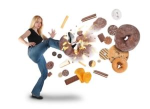 Vermeide Zucker